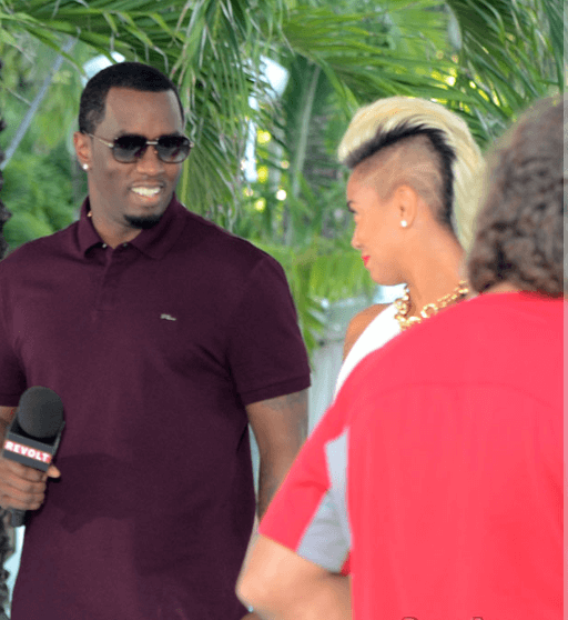 Sibley Scoles With Ex-Boyfriend Sean Combs