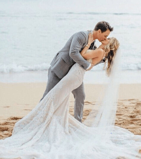 Darin Brooks Wedding Picture