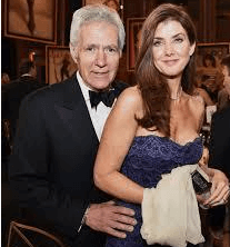 Jean Currivan Trebek With Her Husband
