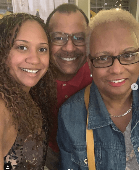 Tracie Thoms Family