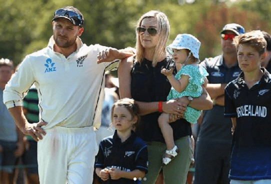 Brendon McCullum Children And Wife