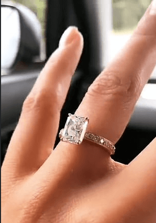 Steph Claire Smith Engagement Ring