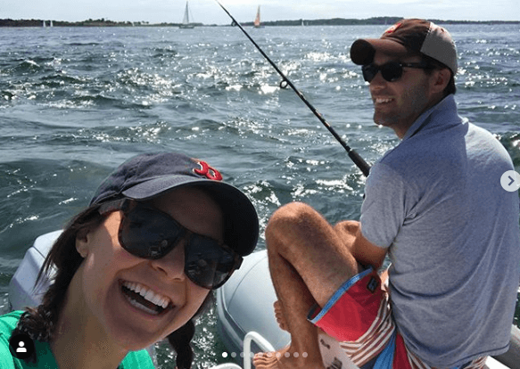 Maggie Rulli With Husband (Fishing)