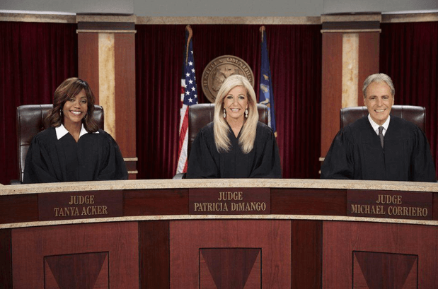 Patricia along with other judges on Hot Bench