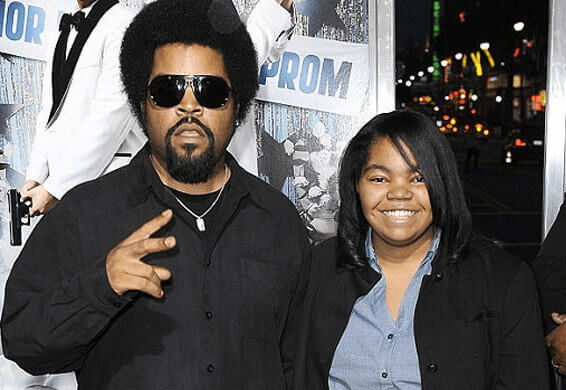 Karima Jackson And Her Father Ice CUbe