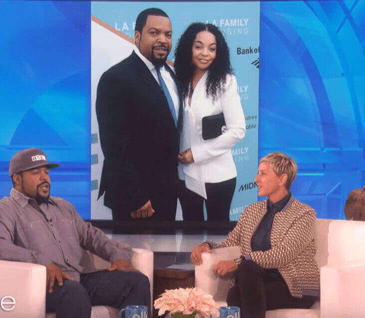 Karima's Father And Mother's Anniversary (Ice Cube And Kimberly Woodruff 25th Anniversary) On Ellen Show