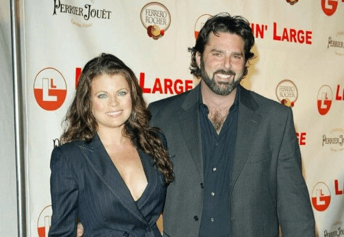Yasmine Bleeth with her spouse Paul Cerrito