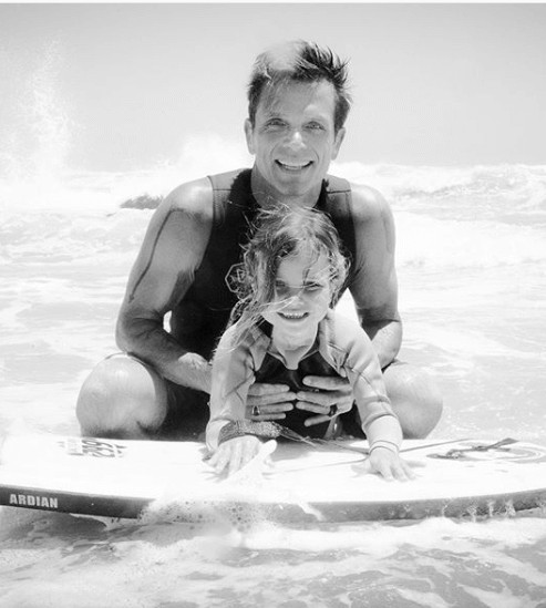 David Chokachi Adorable Daughter