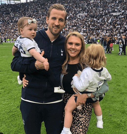 Ivy Jane Kane Family, Mother Katie Goodland, Father Harry Kane And Sister Vienne