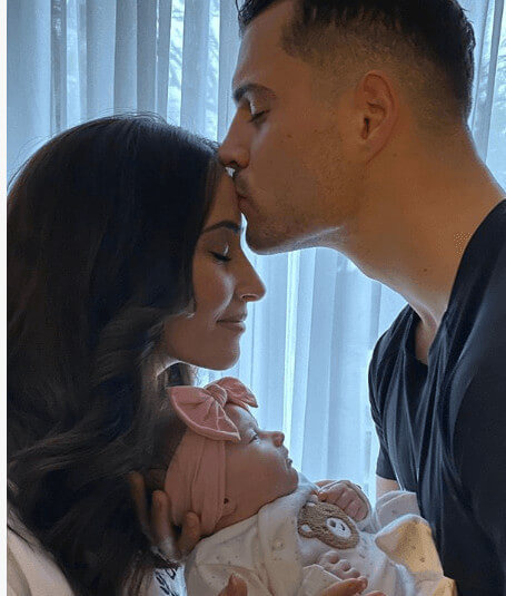 Leonita Lekaj Welcoming Son And Family Complete