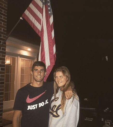 Christian Pulisic Good Looking Girlfriend