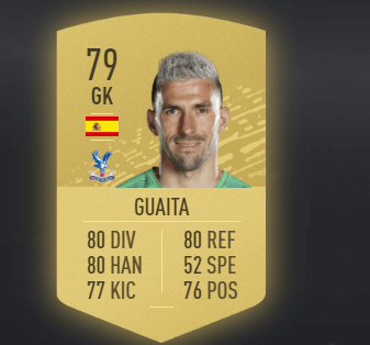 Vicente Guaita Fifa 20 Ratings And Card