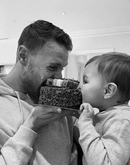Connor Wickham Adorable Son