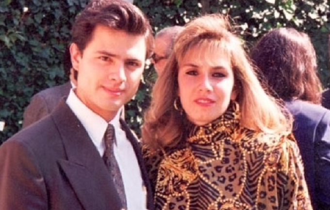 Mónica Pretelini and her husband Enrique Pena Nieto