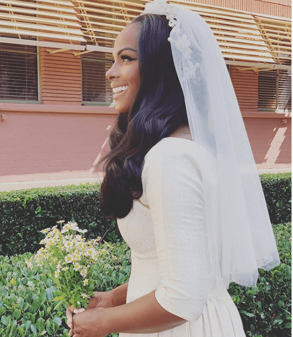 Tika Sumpter Wedding In Sitcom Picture