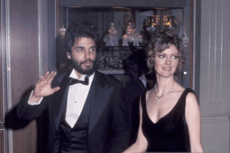 Chris, with his first wife, Susan