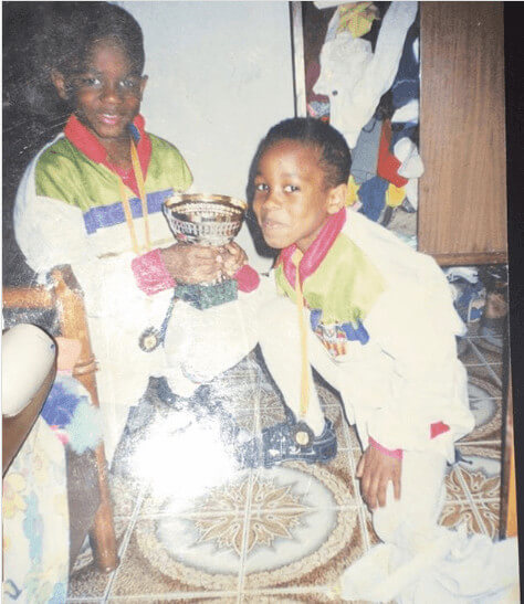 Adama Traore In His Childhood