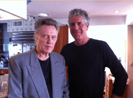 Christopher Bourdain With Brother Anothony