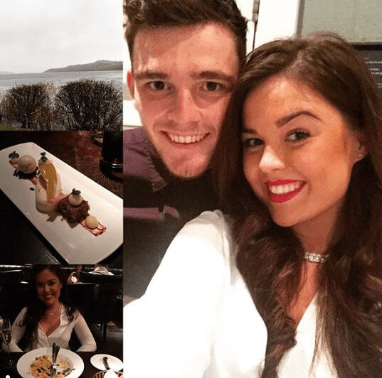 Rachel Roberts Romantic Date Nights With Andy Robertson