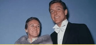 Margie with her ex-husband