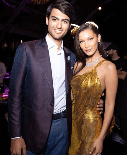 Matteo Bocelli Close Friend Bella Hadid