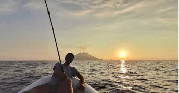 Matteo Bocelli Enjoying Sunset, Lifestyle