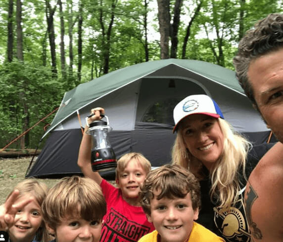 Samantha Hegseth And Husband With Kids