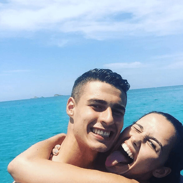 Kepa Arrizabalaga With Adorable Girlfriend