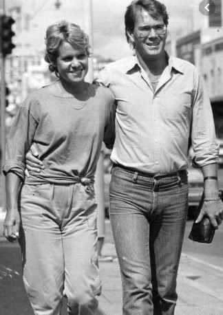 Evonne Goolagong Cawley  With Her Husband Roger Cawley Vintage Picture