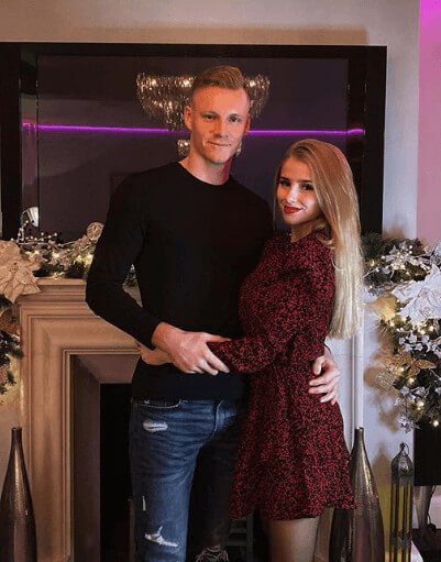 Sophie Christin Romantic Date Nights With Bernd Leno
