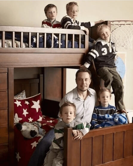 Kai Musk And His Siblings And Dad