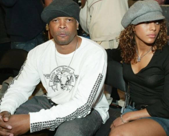 Damon Wayans with his ex-girlfriend, Charity Duplechan.