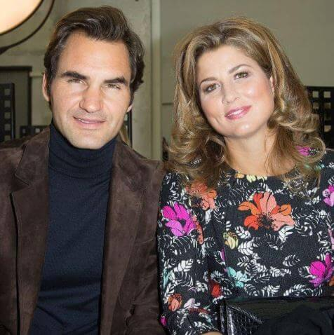 Leo Federer's parents, Roger Federer and Mirka Federer.