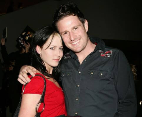 Amy Williamson with her ex-boyfriend, Wil Anderson.