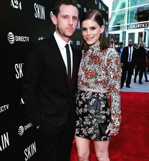 Timothy Christopher Mara's daughter, Kate Mara, with her husband, Jamie-Bell.