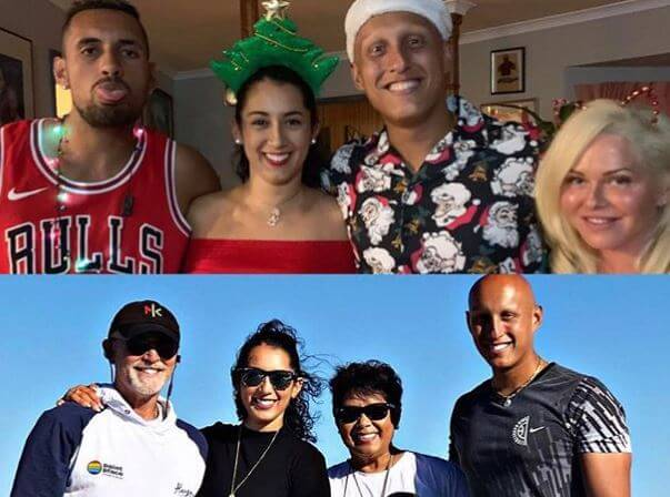Norlaila Kyrgios's full family picture.