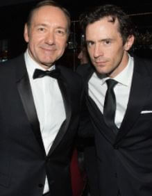 Nathan Darrow (Meechum) and Kevin Spacey (Frank Underwood)
