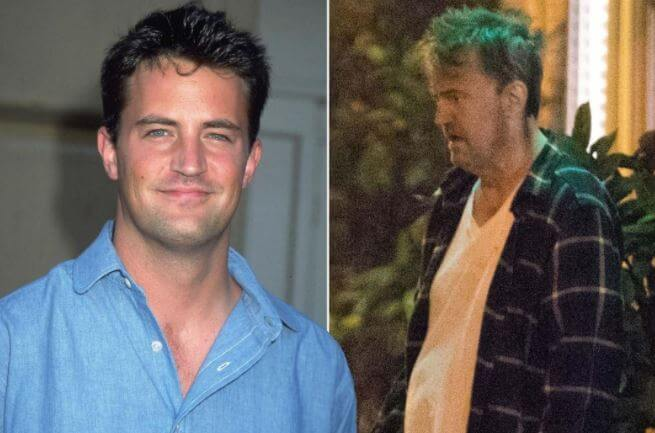 Mia Perry's brother, Matthew Perry's drastic weight fluctuation.