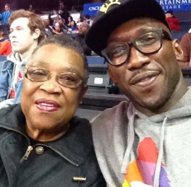 Phillip Gilmore's mother and son, Mahershala Ali.