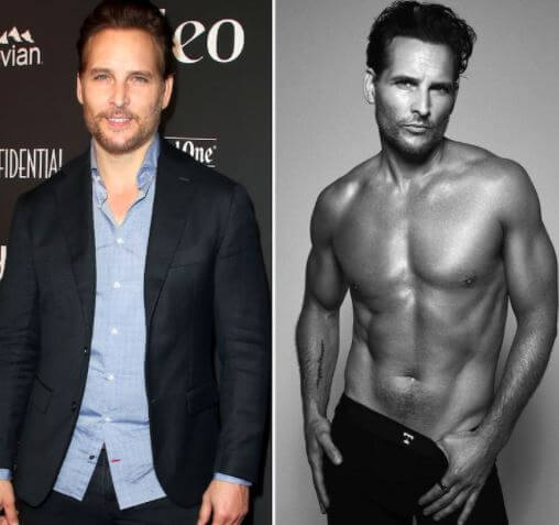 Peter Facinelli slim and toned body in 2020.