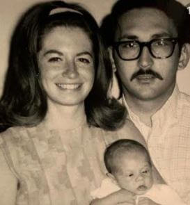 Patti Flynn With Husband Dennis Stefani and first son, Eric