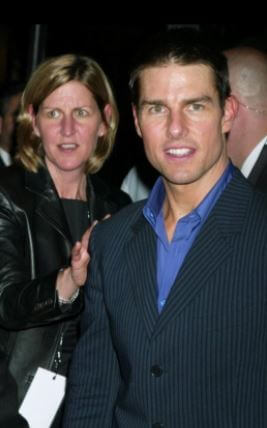 Lee Ann Mapother with borther Tom Cruise.