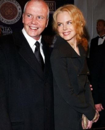 Antony Kidman With Daughter Nicole Kidman