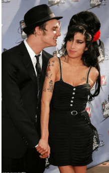 Blake and his ex-wife Amy Winehouse