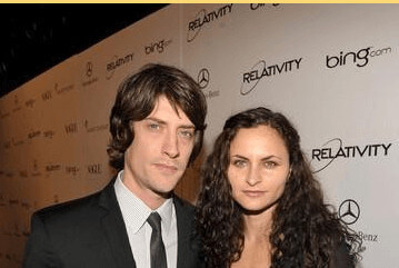 Rain Phoenix with her ex-husband  Michael Tubbs