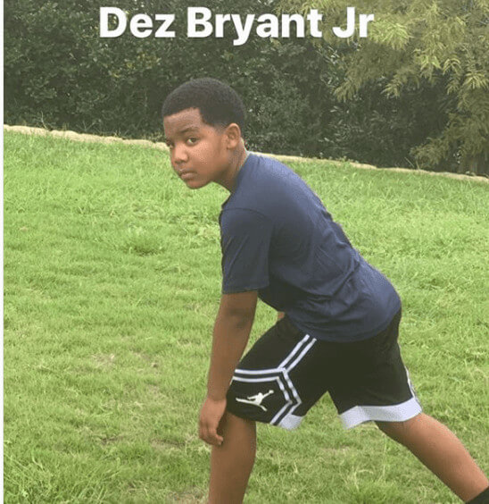 her brother Dez Bryant Jr