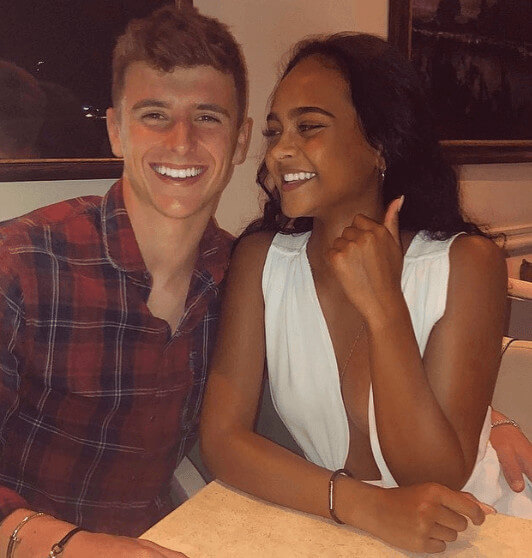 Mason Mount With His Girlfriend