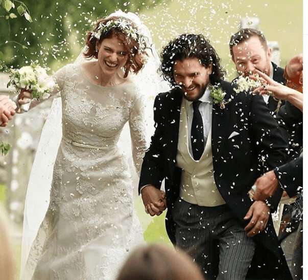 Candida Mary Sibyl Leslie Daughters Wedding With Kit Harington