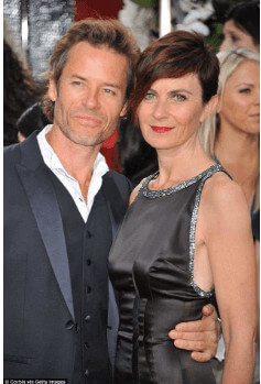 Guy Pearce With His First Wife
