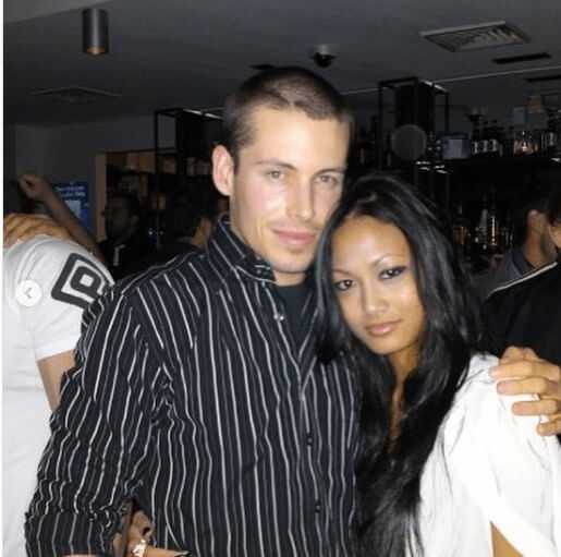 With His Girlfriend Few Years Back